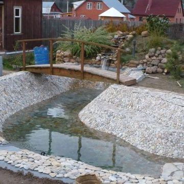 Этапы строительства пруда водоема