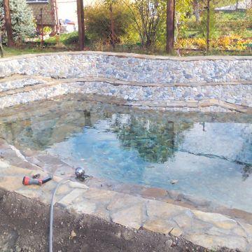 Строительство дачного пруда